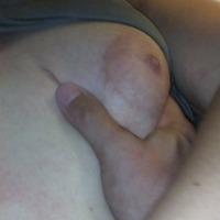 Medium tits of my girlfriend - sue