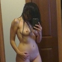 My Ex-Girl Friend - Brunette, European And/or Ethnic, Hard Nipples, Medium Tits, Natural Tits, Young Woman