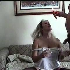 Andi The Cumshot - Big Tits, Blonde, Blowjob, Cumshot, Hand Job