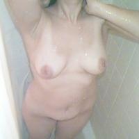 Medium tits of my girlfriend