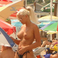 The Blonde Wonder - Big Tits, Blonde, Beach