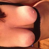 Medium tits of my girlfriend - Liz