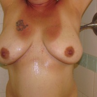 Large tits of my wife - Honey