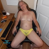 Panty - Lingerie, Brunette, Medium Tits, Pussy, Bush Or Hairy