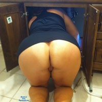 Sexy Plumber - Brunette, Dressed, Pussy, Bush Or Hairy