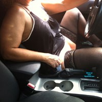Out For A Drive - Lingerie, Dressed, Pussy, Bush Or Hairy