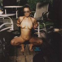 On The Deck - Body Piercings, Hard Nipples, Medium Tits, Natural Tits, Pussy, Wife/Wives