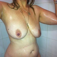 Shower Time - Big Tits, Hard Nipples, Wet