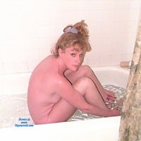 Rub a Dub Dub in The Tub - Hard Nipples, Blonde, Small Tits, Wet