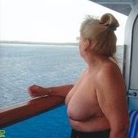 Large tits of my wife - marie
