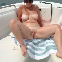 On The Boat - Big Tits