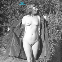 A Vintage Selection - Shaved, Hard Nipples, Lingerie, Natural Tits, Nature, Outdoors, Small Tits