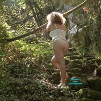Mature Agua in Bussaco Woods - Beautiful Ass, Nature, Big Tits, Hard Nipples, Round Ass