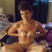 First Time - Brunette, Mature, Hard Nipples, Medium Tits