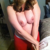 Large tits of my wife - dmbgirl