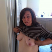 Large tits of my wife - donna