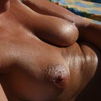 Medium tits of my wife - gabrielle