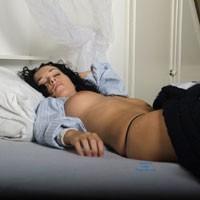 Sleeping Beauty - Brunette, Big Tits, Hard Nipples