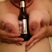 Large tits of my wife - bigmans wife