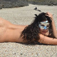 Beach and More Beach - Beach, Brunette, Beautiful Ass, Costume, Firm Ass, Hard Nipples, Medium Tits, Natural Tits, Pussy, Shaved, Wet