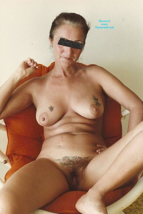 Pic #2 - Hairy Pussy - Wife/Wives, Bush Or Hairy, Mature, Beach, Brunette, Medium Tits, Pussy, Tattoos