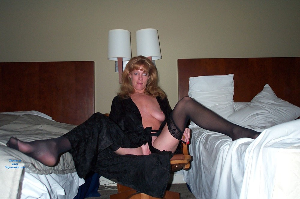 Pic #1 - A Black Tie Event - Sexy Lingerie , After The Night On The Town