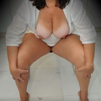 Niki@52 - Big Tits, Brunette, Mature, High Heels Amateurs, Shaved