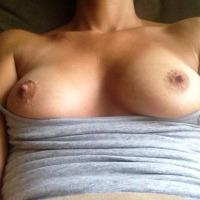 My very small tits - ginger