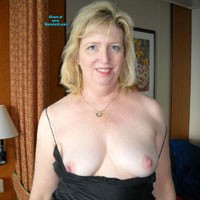 Lingerie MILF - Blonde, Mature, Lingerie, Medium Tits, Natural Tits