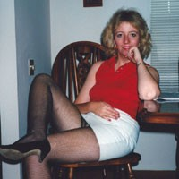 Retro Pantyhose - Blonde, Dressed, High Heels Amateurs
