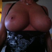 Large tits of my wife - VLW