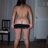 Rear View - Brunette, Big Ass