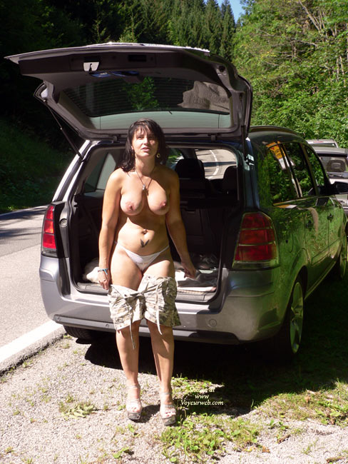 Pic #1 - Alex Naked At The River , Alex Naked At A Public River<br />That Is Not A River For Naked Bathing!<br />Hot Weather Hot Women