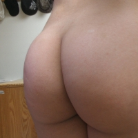 My room mate's ass - pearla