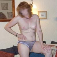Kt - Mature, Redhead, Medium Tits, Pussy, Shaved