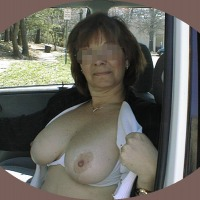 Large tits of a co-worker - Jan