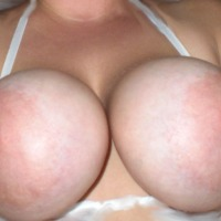 Very large tits of my girlfriend - Sunny