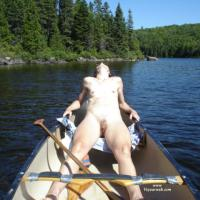 Canoe Trip - Beach, Small Tits