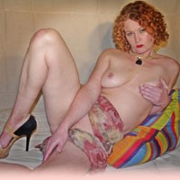 Dress Up - High Heels Amateurs, Mature, Redhead, Big Tits, Body Piercings, Costume, Pussy, Shaved