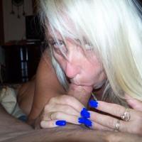 Lip Service - Blonde, Blowjob, Mature