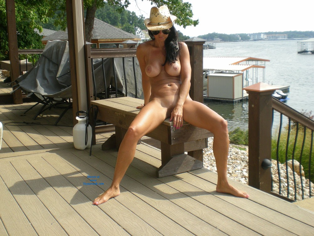 Pic #7 Lake View - Brunette, Big Tits, Shaved, Pussy, Firm Ass
