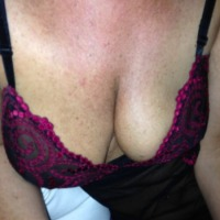 Medium tits of a co-worker - CORALIE