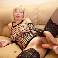 My Wife Anna (Set 2) - Blonde, High Heels Amateurs, Lingerie, Shaved, Toys, Wife/Wives