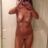 Self Shots - Wife/Wives, Brunette, Hard Nipples, Lingerie, Pussy, Small Tits, Bush Or Hairy