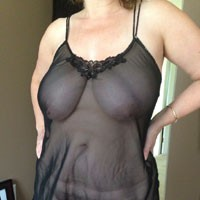 My Wife - Lingerie, Wife/Wives, Big Tits, Brunette, Pussy, Bush Or Hairy