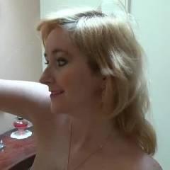 Happy Endings - Blonde, High Heels Amateurs, Lingerie, Masturbation, Toys, Shaved