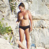 Croatian Beach Milf 3 - Beach, Big Tits, Brunette