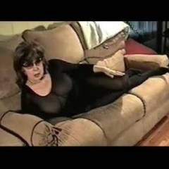 Deva Does Uncle Bob - Blowjob, Brunette, Mature, Lingerie