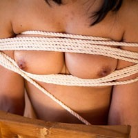 Bound - Hard Nipples, Medium Tits, S&M