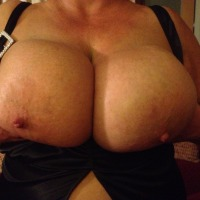Extremely large tits of my wife - Sexy Shelly